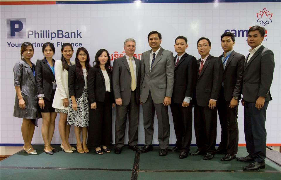 how to open an account at candia bank phnom penh